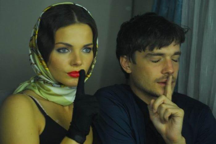 Елизавета Боярская и Максим Матвеев в фильме *Не скажу*, 2010 | Фото: kino-teatr.ru