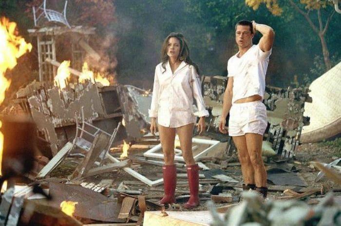 Кадр из фильма *Мистер и миссис Смит*, 2005 | Фото: uznayvse.ru
