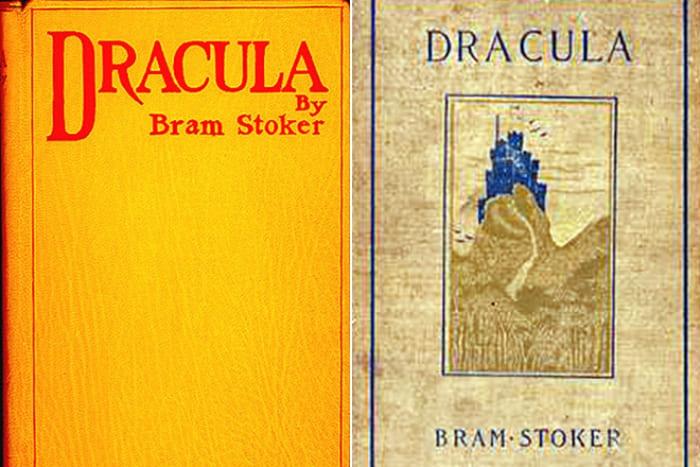 Первые издания романа Брэма Стокера *Дракула* | Фото: 24smi.org