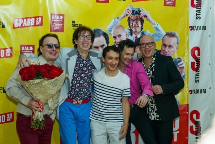 Группа *Браво* на праздновании своего 30-летия | Фото: sovsekretno.ru