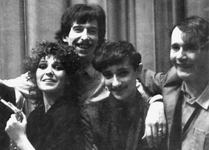 Жанна Агузарова и группа *Браво*, 1984   Фото: abrgen.ru