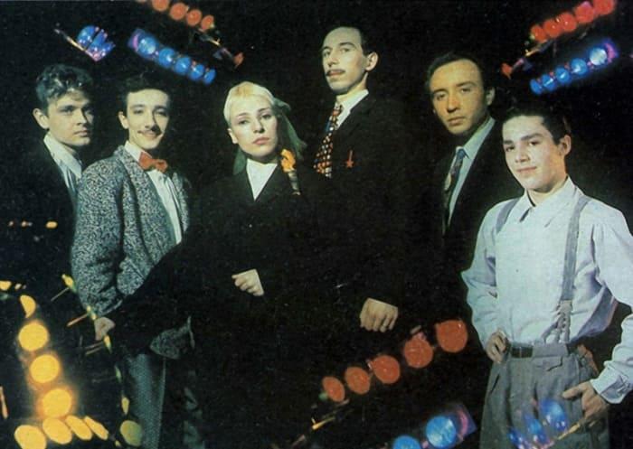 Жанна Агузарова и группа *Браво*, 1987   Фото: dubikvit.livejournal.com