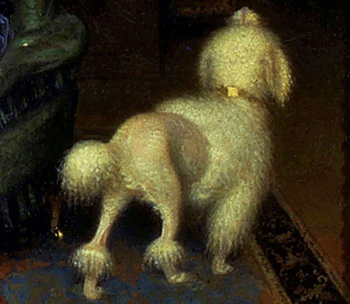 Даже собачка пострижена по последней моде | Фото: vokrugsveta.ru