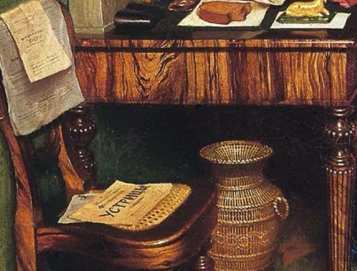 П. Федотов. Завтрак аристократа. Фрагмент | Фото: liveinternet.ru