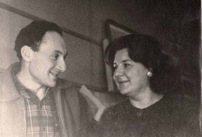 М. Жеребчевский и И. Ковалевская | Фото : etar.ucoz.com
