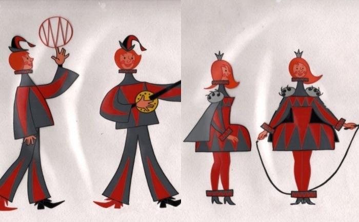 Первый вариант внешнего облика Трубадура и Принцессы... | Фото: etar.ucoz.com