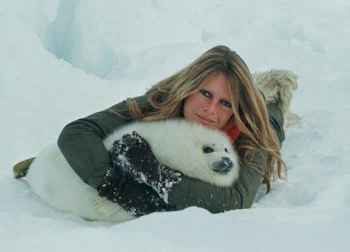 Ярая защитница прав животных Брижит Бардо | Фото: portal-kultura.ru