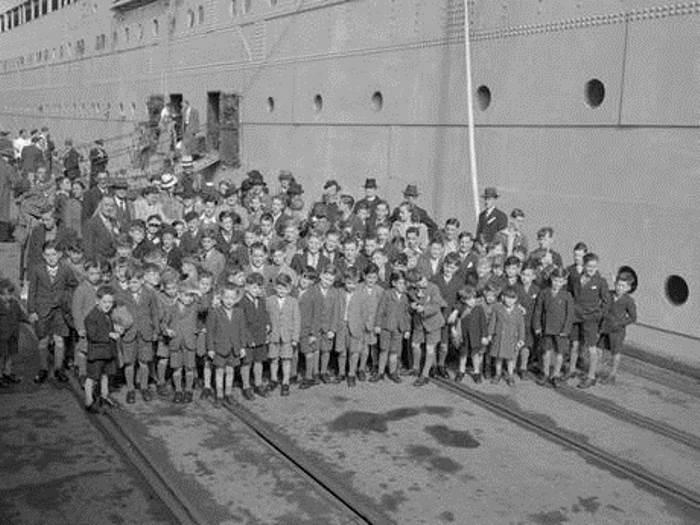 Дети, вывезенные из страны в послевоенные годы