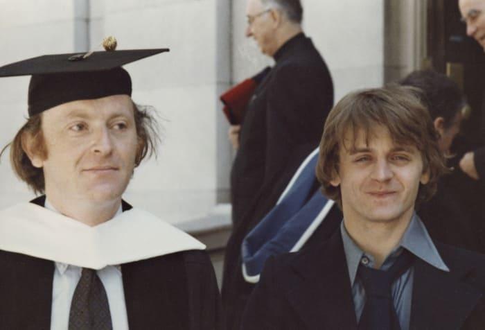 Иосиф Бродский и Михаил Барышников. Нью-Хейвен. Май 1978 г. | Фото: brodsky.online