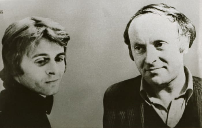 Михаил Барышников и Иосиф Бродский, 1970-е   Фото: brodsky.online