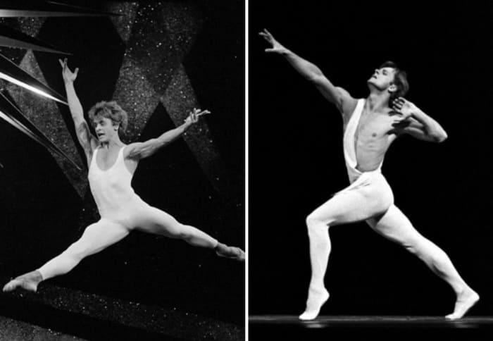 Михаил Барышников на сцене Мариинского театра оперы и балета | Фото: biography-life.ru, prikolno.cc