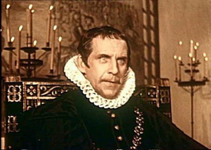 Бруно Фрейндлих в фильме *Дон Кихот*, 1957 | Фото: kino-teatr.ru