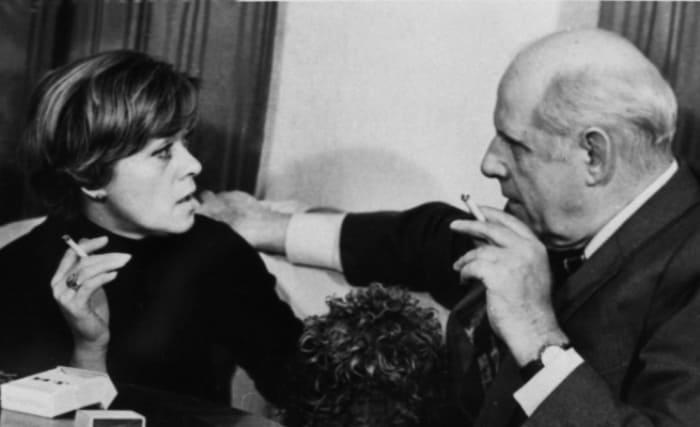 Алиса Фрейндлих с отцом | Фото: kino-teatr.ru