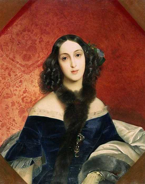 К. Брюллов. Портрет М. А. Бек, 1840 | Фото: gallerix.ru