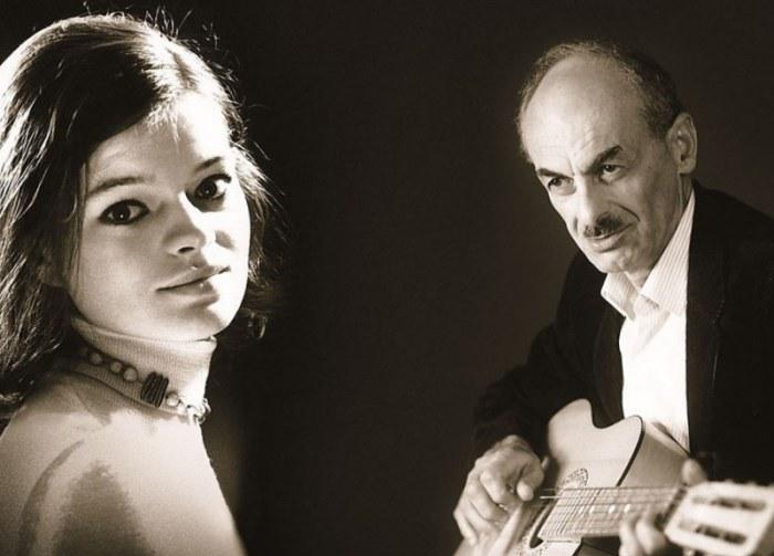 Булат Окуджава и Наталья Горленко | Фото: ifotki.info
