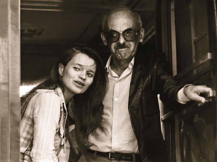 Булат Окуджава и Наталья Горленко, 1985 г. | Фото: liveinternet.ru