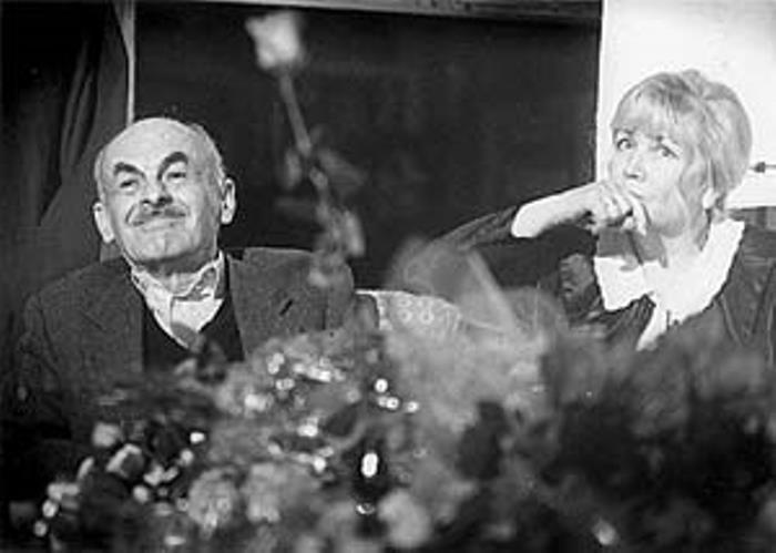 Булат Окуджава и Ольга Арцимович | Фото: vilavi.ru