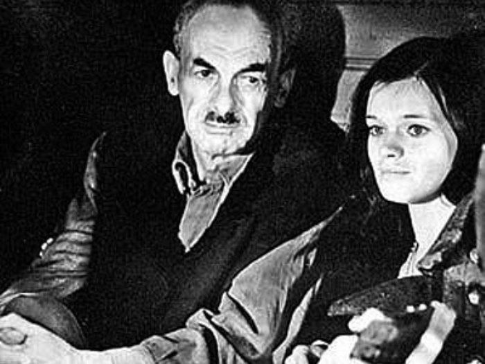 Булат Окуджава и Наталья Горленко. Кадр из фильма *Законный брак*, 1985 | Фото: liveinternet.ru
