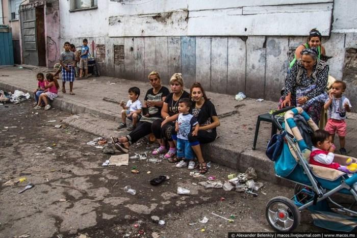 Болгарские цыгане. Фото Александра Беленького