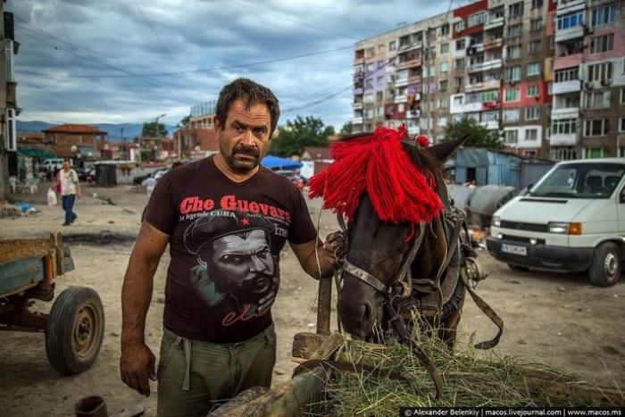 В каждом крупном болгарском городе есть цыганский район