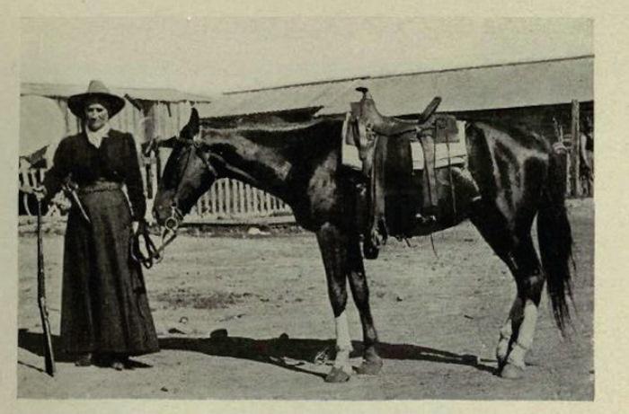 Марта Джейн Кэннэри, больше известная как Каламити Джейн | Фото: retro.cc