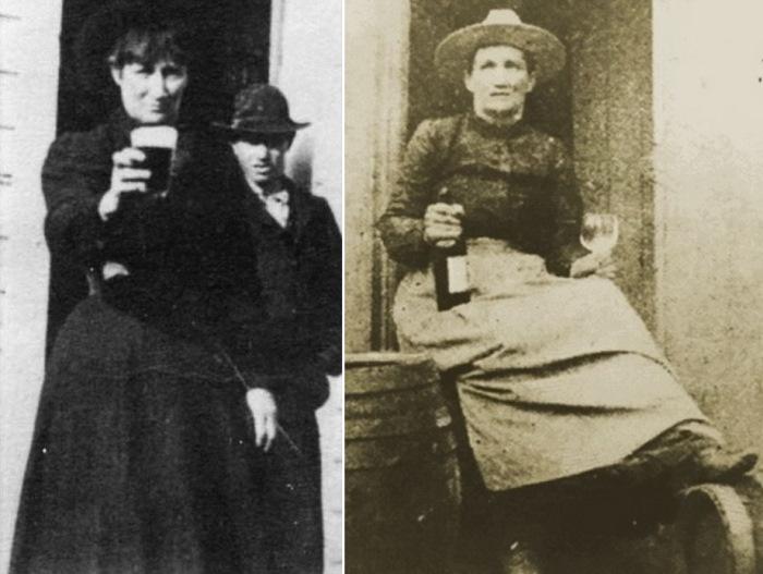 Выпивала женщина-катастрофа так, же как и сражалась, – наравне с мужчинами | Фото: liveinternet.ru