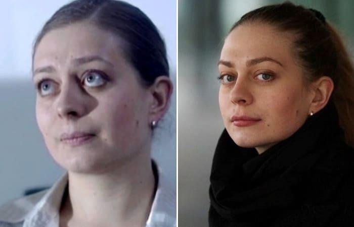 Актриса Дарья Егорычева в сериале *Глухарь* и за кадром