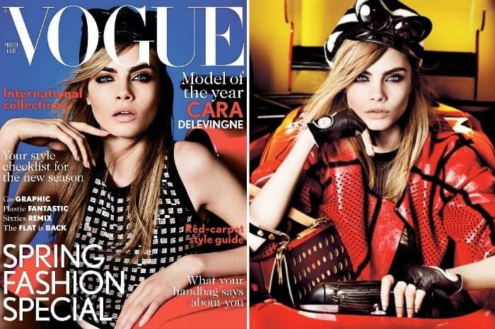 Супермодель в журнале *Vogue* | Фото: news.online.ua