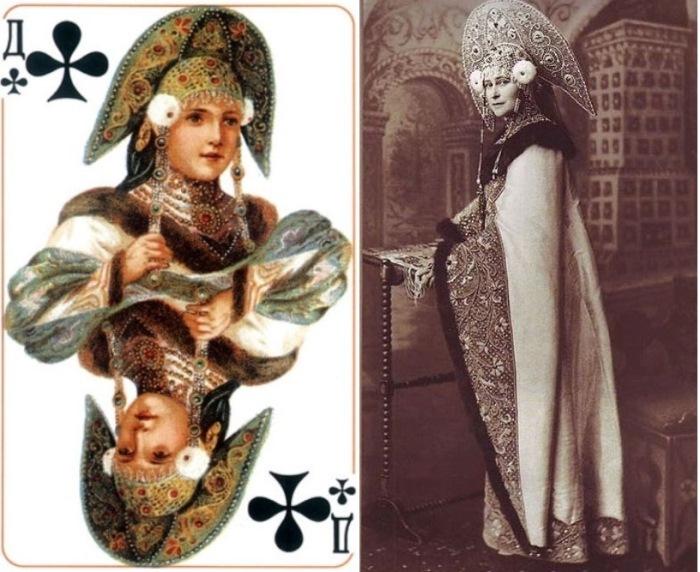 Трефовая дама и ее прототип – княгиня Елизавета Федоровна