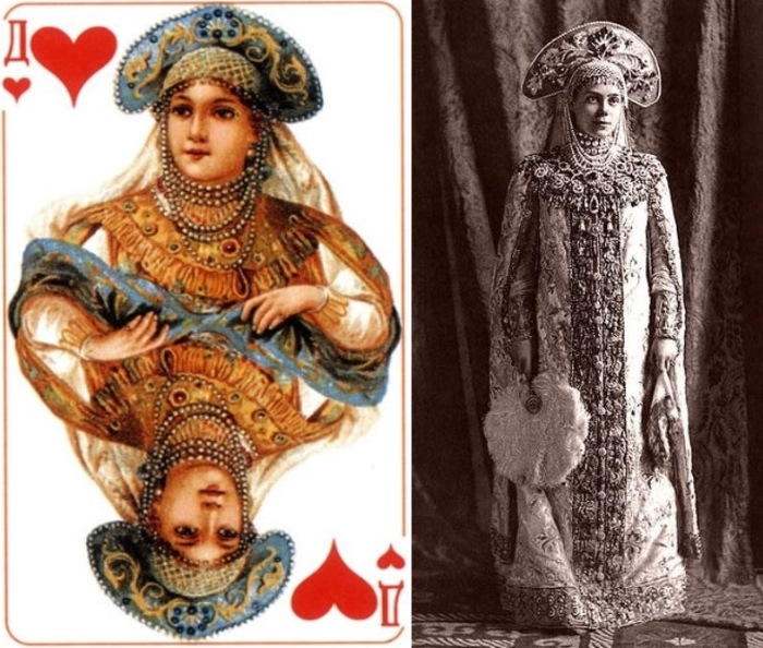 Червовая дама и ее прототип – княгиня Ксения Александровна