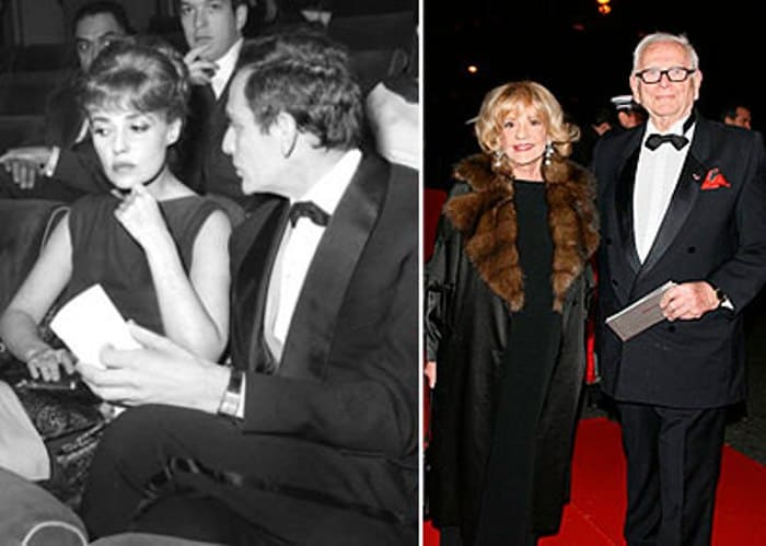 Жанна Моро и Пьер Карден | Фото: butik.com.ua