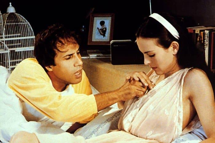 Адриано Челентано и Кароль Буке в фильме *Бинго Бонго*, 1982 | Фото: kino-teatr.ru