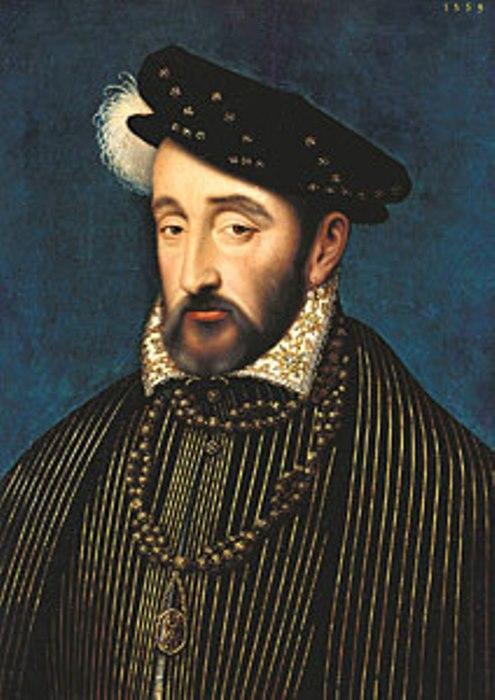 Франсуа Клуэ. Портрет Генриха II