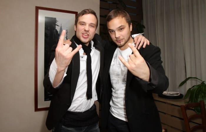 Братья-актеры Андрей и Алексей Чадовы | Фото: kino-teatr.ru