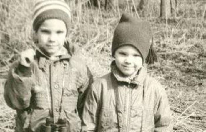 Братья Чадовы в детстве | Фото: kino-teatr.ru