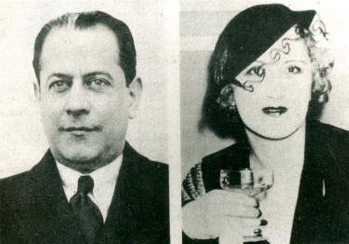 Знаменитый шахматист Хосе Рауль Капабланка и его жена Ольга | Фото: chesshistory.com