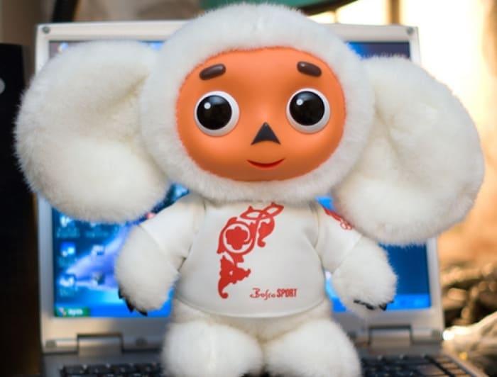 Чебурашка-талисман Олимпийской сборной России | Фото: sobaka.ru