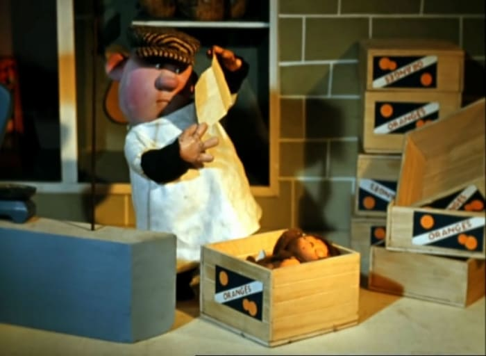Чебурашку нашли в ящике с апельсинами | Фото: sobaka.ru