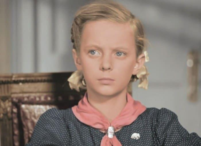 Эля Быковская в фильме *Подкидыш*, 1939 | Фото: kino-teatr.ru
