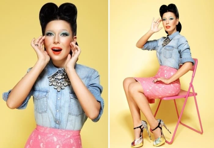 Популярная певица Елка   Фото: diwis.ru и kp.ru