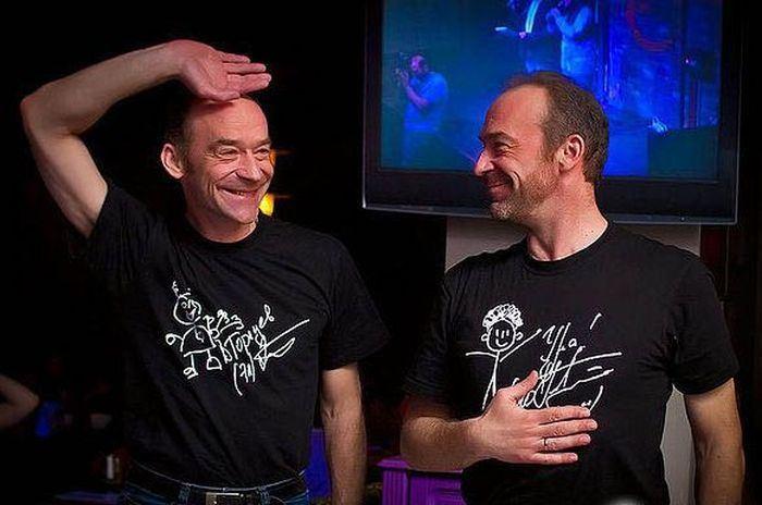 Братья-близнецы Юрий и Владимир Торсуевы