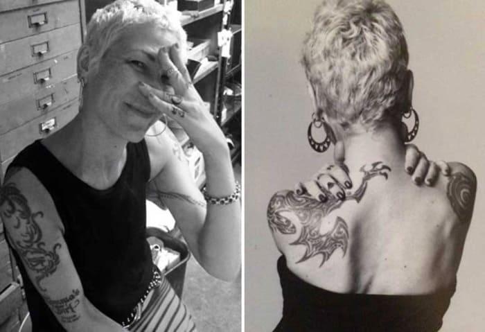 Внучка Сталина – любительница пирсинга и татуировок | Фото: stuki-druki.com