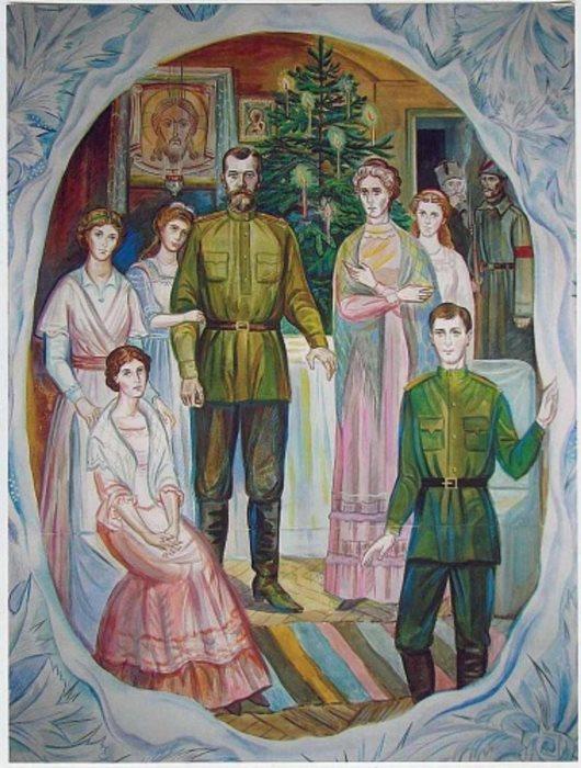 И. Хромова. Рождество в царской семье