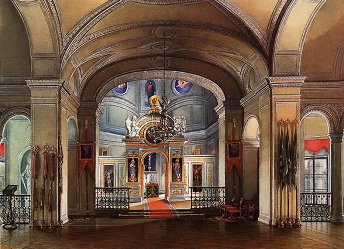 Дворцовая церковь в Гатчине, где встречала Рождество семья Александра III
