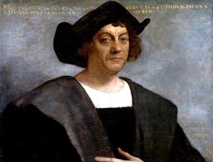 С. дель Пьомбо. Портрет Христофора Колумба, 1519 | Фото: vm.ru