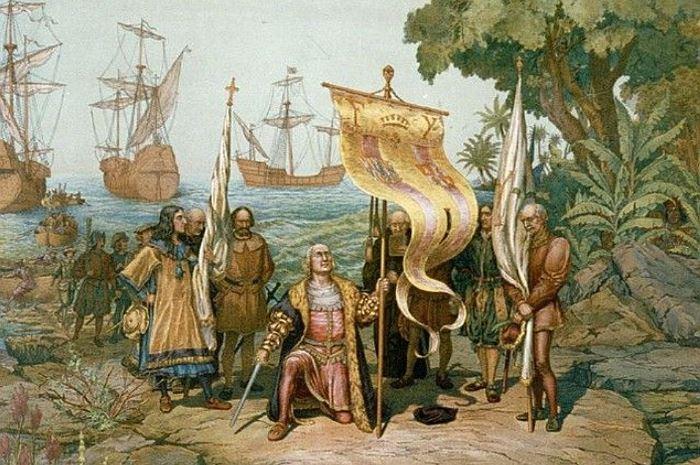 Высадка Колумба в Америке   Фото: kp.ru