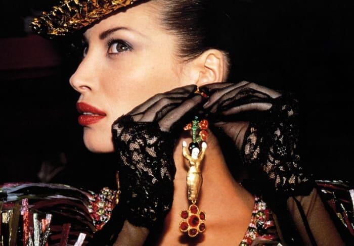 Знаменитая супермодель 1990-х гг. Кристи Тарлингтон | Фото: mylitta.ru