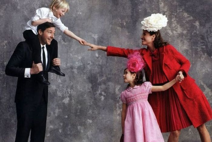 Супермодель со своей семьей | Фото: 24smi.org