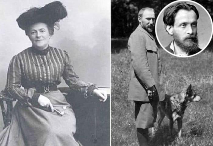 Клара Цеткин и ее второй муж Георг Цундель, внешнее сходство которого с Осипом Цеткиным нельзя не заметить | Фото: liveinternet.ru и kafanews.com