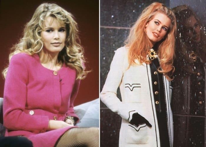 Легендарная супермодель 1990-х Клаудиа Шиффер | Фото: glamour.ru и liveinternet.ru